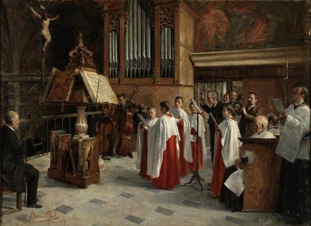 Borrás Abellá - En el coro